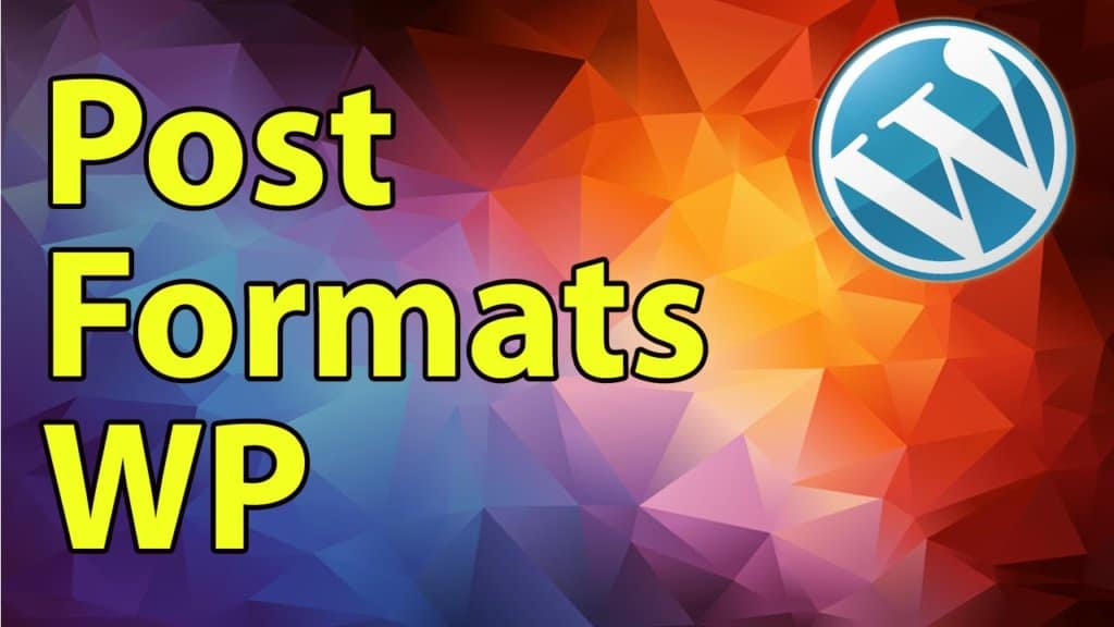 Wordpress Development Tutorial: Post Formats